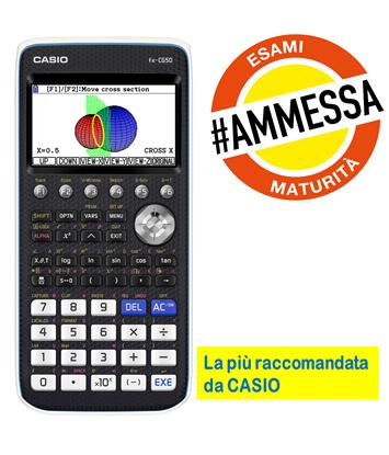 FX-CG50: LA CALCOLATRICE PIÙ RACCOMANDATA DA CASIO